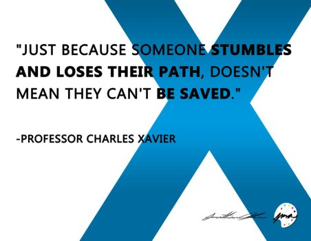 Professor Xavier Quote (2015) by jmalfonso7