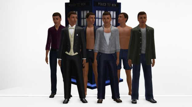 The Sims 3 - Doctor Who - Shaun Temple by exangel42