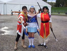 Suikoden 2 cosplay group by crimsontriforce