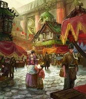 Middle Distict market by Timkongart