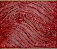 Pain - Blood Painting 1 by Soniafm1027