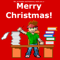 Merry Christmas but... by dra2k4