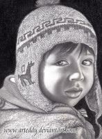 Bolivian Boy by Arteddy