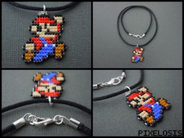 Mario Necklace by Pixelosis