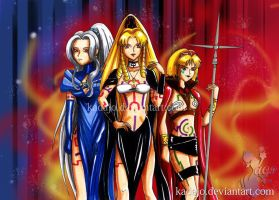 Trinity of Terror by Kadajo