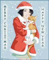 Happy Holidays 2004 by cat-lovers