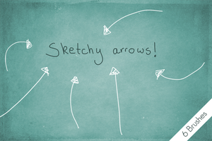 Sketchy Arrows! by byjanam