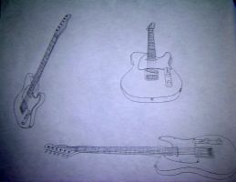 The Guitars by Smooth-as-Sandpaper