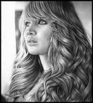 Jennifer Lawrence portrait by MShah123