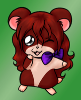 APH OC - Nikki the Hamster by X-I-L2048