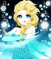 Queen ELSA by IValShe