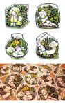 terrarium stickers by koyamori