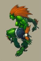 Female Blanka colors by slur
