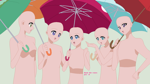 REQUEST: Umbrella Friends Base by Nerdygirl311