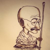 Gandhi by Shien279