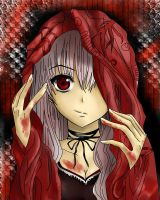 My version of an evil Red Riding Hood c: by Ria69