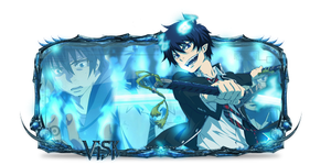Ao no Exorcist Sign by Luciano246BR