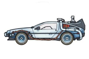 1981 Delorean DMC-12 by 451illustration