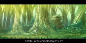 Calming Forest by SweetChiel