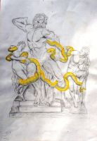 Laocoon Group by MadCaDDy85