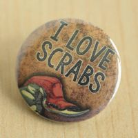 I love scrabs by MonstersPins