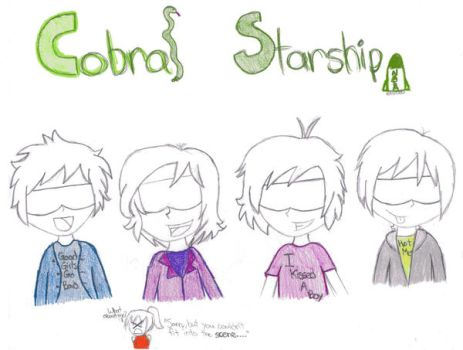 Cobra Starship by CrazyCartoonGirl
