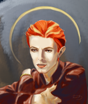 Bowie by IronMaidenShost