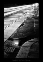 Rainy Streets of Vienna by Staged
