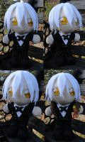 Plushie Snake, Footman Uniform by LadyoftheSeireitei