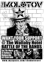 The MOLOTOV Want YOUR SUPPORT by scart
