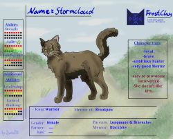 Ref Sheet - Stromcloud by Iyna08