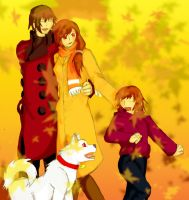 Aragaki Family ... by LadyStarwing