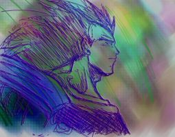 Raditz wallpaper dramtic by Paradise-of-Darkness
