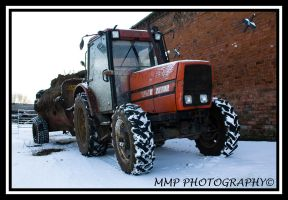 Zetor In The Snow by 001mark