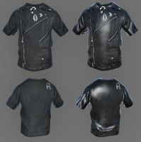 Leather Vest by ASKEBRN