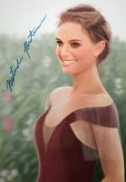 Natalie Portman-Digital paint by fabius72
