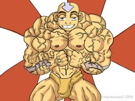 Aang totally ripped by hearmenowu2