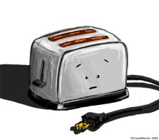 Lonely Toaster by ChineseWarri0r