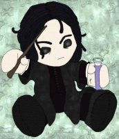 Plushie Snape Squell by Blackmoonrose13