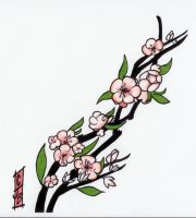 Cherry Blossoms by Hot-Pink-Metal