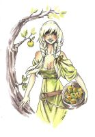 Idunn and her Apples by Odins-Girl