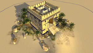Carthaginian Blockhouse Fort by LordGood