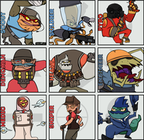 Awesomenauts: Meet the Team by MindFyre