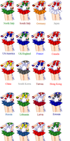 Sailor Hetalia -Outfits Only- by Hetalia