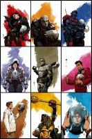 GI JOE x 9 by nelsondaniel