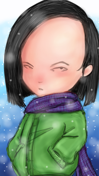 Yumi has a cold by Thatcode