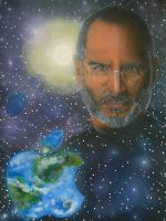 steve jobs by Mark-Duffy