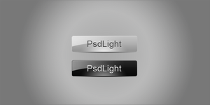 Black and white glossy button by psdlight