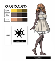 Daerwen character sheet by THE-DARK-MIA