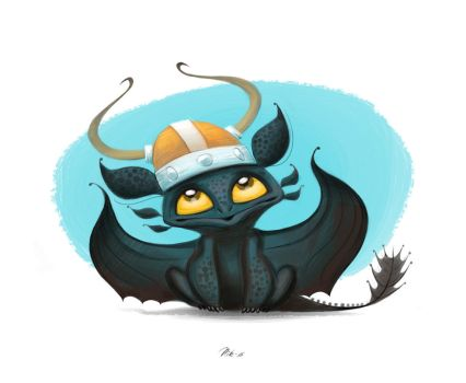 99. Little Toothless by nik159